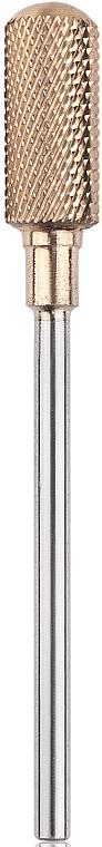 Твърдосплавна фреза (циркон), заоблен цилиндър, 6 мм, безопасна - Head The Beauty Tools — снимка N1