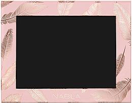 Парфюмерия и Козметика Празна магнитна палитра за грим, розова - Nabla Liberty Six Customizable Palette