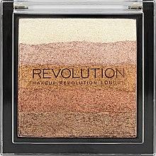 Парфюми, Парфюмерия, козметика Шимер за лице - Makeup Revolution Vivid Shimmer Brick