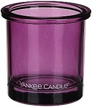 Парфюмерия и Козметика Чаша за свещ - Yankee Candle POP Violet Tealight Votive Holder