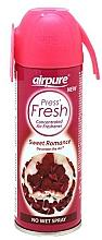 Парфюмерия и Козметика Ароматизиращ спрей за дома - Airpure Press Fresh Sweet Romance