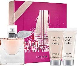 Парфюмерия и Козметика Lancome La Vie Est Belle - Комплект (парф. вода/50ml + душ гел/50ml + лосион за тяло/50ml)