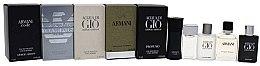 Парфюми, Парфюмерия, козметика Giorgio Armani Mini Gift Set For Men - Комплект тоалетна вода (edt/2x5ml + edt/2x4ml + edt/7ml)