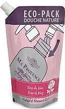 Парфюмерия и Козметика Душ гел с аромат на майска роза - Ma Provence Shower Gel Rose Of May (пълнител)