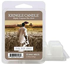 Парфюмерия и Козметика Ароматен восък - Kringle Candle Wax Far Far Away