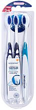 Парфюмерия и Козметика Комплект четки за зъби - Sensodyne Repair Protect Extra Soft Triopack