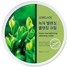 Парфюмерия и Козметика Почистващ крем за лице - Lebelage Green Tea Balancing Cleansing Cream