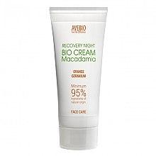 Парфюми, Парфюмерия, козметика Крем за лице с макадамия - Avebio Recovery Night Bio Cream Macadania