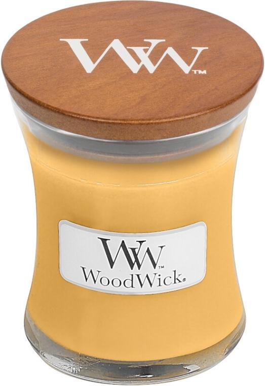 Ароматна свещ в бурканче - WoodWick Oat Flower Candle — снимка N1
