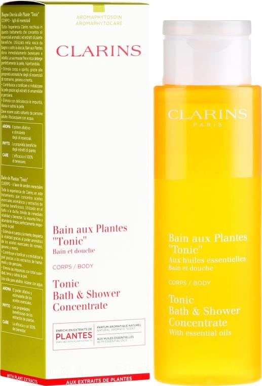 Пяна за вана - Clarins Tonic Bath & Shower Concentrate — снимка N1