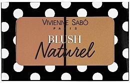 Парфюмерия и Козметика Двоен руж за лице - Vivienne Sabo Naturel Blush Duo