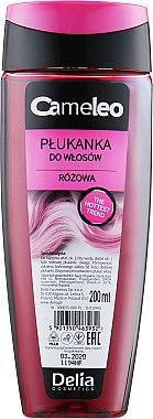 Розова обливка за светла коса - Delia Cosmetics Cameleo