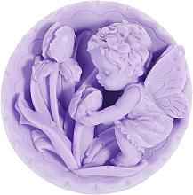 """Парфюмерия и Козметика Ръчно изработен натурален сапун """"Ангелче с лалета"""" с аромат на лавандула - LaQ Happy Soaps Natural Soap"""