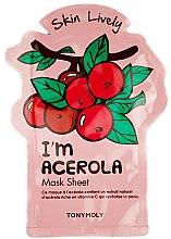 Парфюми, Парфюмерия, козметика Памучна маска за лице - Tony Moly I'm Acerola Skin Lively Sheet Mask
