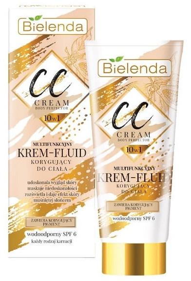 CC крем-флуид за тяло - Bielenda Magic CC 10in1 Body Correction Cream Waterproof Tanning Effect SPF6