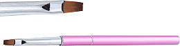 Парфюмерия и Козметика Плоска четка за гел, 6 - NeoNail Professional
