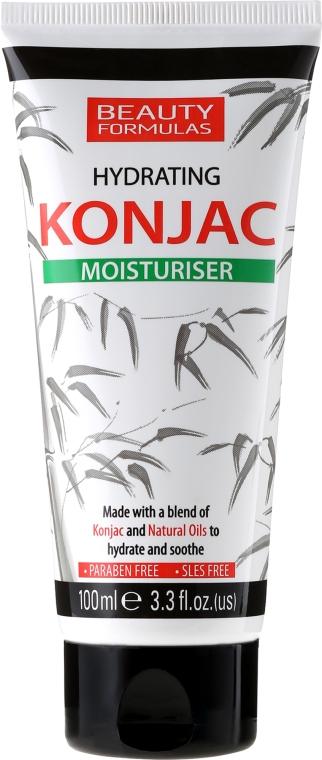 Овлажняващ крем за лице - Beauty Formulas Konjac Hydration Moisturiser — снимка N1