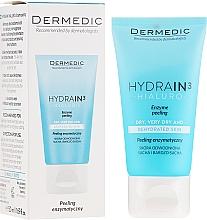 Парфюмерия и Козметика Ензимен пилинг за лице, шия и деколте - Dermedic Hydrain3 Hialuro Peel