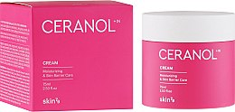 Парфюмерия и Козметика Хидратиращ крем за лице - Skin79 Ceranol Cream Moisturizing & Skin Barrier Care Cream