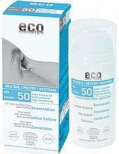 Парфюмерия и Козметика Слънцезащитен лосион, без аромат - Eco Cosmetics Sun Lotion SPF 50