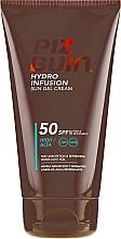 Парфюмерия и Козметика Слънцезащитен крем-гел за тяло - Piz Buin Hydro Infusion SPF 50