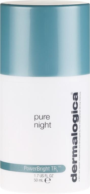 Богат нощен озаряващ крем за лице - Dermalogica PowerBright TRx Pure Night — снимка N2