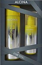 Парфюмерия и Козметика Комплект за коса - Alcina Hyaluron 2.0 Hair Set (шампоан/250ml + спрей/100ml)