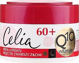 Парфюмерия и Козметика Антистареещ крем за лице - Celia Q10 Face Cream 60+