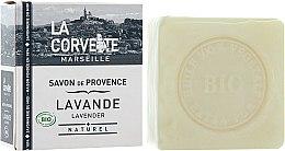 "Парфюми, Парфюмерия, козметика Органичен сапун ""Лавандула"" - La Corvette Savon de Provence Lavender Bio"
