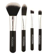 Парфюми, Парфюмерия, козметика Комплект четки за грим - Freedom Makeup London Mini Kit Brush Set