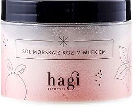 """Парфюми, Парфюмерия, козметика Морска сол за вана """"Козе мляко"""" - Hagi Bath Salt"""