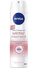Парфюми, Парфюмерия, козметика Спрей дезодорант - Nivea Women Deospray Winter Moiments