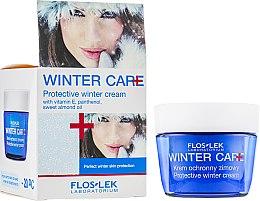 Парфюми, Парфюмерия, козметика Защитен зимен крем за лице с витамин Е - Floslek Winter Care Protective Cream