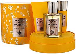 Парфюмерия и Козметика Acqua Di Parma Colonia Intensa - Комплект (одеколон/100ml + душ гел/75ml + дезод./50ml)
