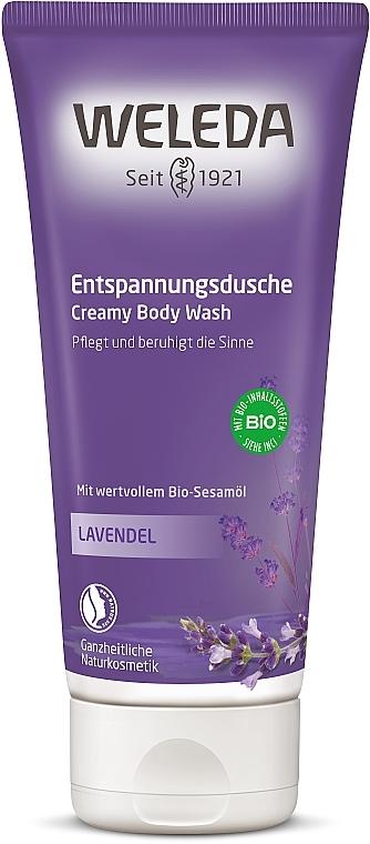 Успокояващ душ гел с лавандула - Weleda Lavendel Entspannungsdusche — снимка N1