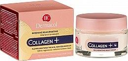 Парфюмерия и Козметика Интензивен подмладяващ нощен крем - Dermacol Collagen+ Intensive Rejuvenating Night Cream