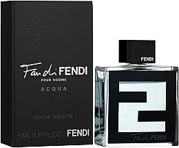 Парфюмерия и Козметика Fendi Fan di Fendi Pour Homme Acqua - Тоалетна вода ( мини )