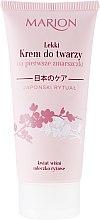 Парфюми, Парфюмерия, козметика Крем за лице против първи бръчки - Marion Japanese Ritual Light Face Cream for First Wrinkles