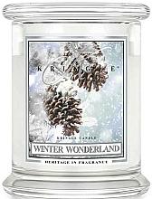 Парфюмерия и Козметика Ароматна свещ в бурканче - Kringle Candle Winter Wonderland