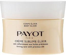Парфюми, Парфюмерия, козметика Укрепващ лосион за тяло - Payot Creme Sublime Elixir