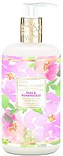 Парфюми, Парфюмерия, козметика Течен сапун за ръце - Baylis & Harding Royale Bouquet Rose and Honeysuckle Hand Wash