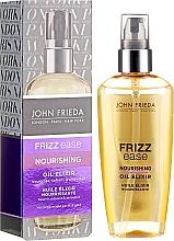 """Парфюмерия и Козметика Масло за коса """"Подхранващ еликсир"""" - John Frieda Frizz Ease Nourishing Oil Elixir"""