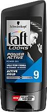 Парфюми, Парфюмерия, козметика Моделиращ гел за коса - Schwarzkopf Taft Looks Power Active Gel