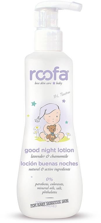Детски нощен лосион за тяло - Roofa Good Night Lotion