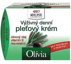 Парфюми, Парфюмерия, козметика Хидратиращ крем за лице - Bione Cosmetics Olivia Nourishing Facial Cream With Vitamin E And Resveratrol