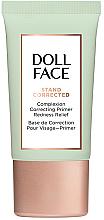 Парфюмерия и Козметика Коригираща основа за лице срещу зачервявания - Doll Face Stand Corrected Complexion Equalizer Primer