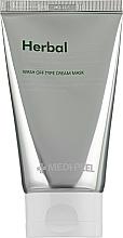 Парфюмерия и Козметика Успокояваща детоксикираща пилинг маска за лице - Medi Peel Herbal Peel Tox