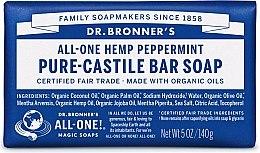 """Парфюми, Парфюмерия, козметика Сапун """"Мента"""" - Dr. Bronner's Pure Castile Bar Soap Peppermint"""