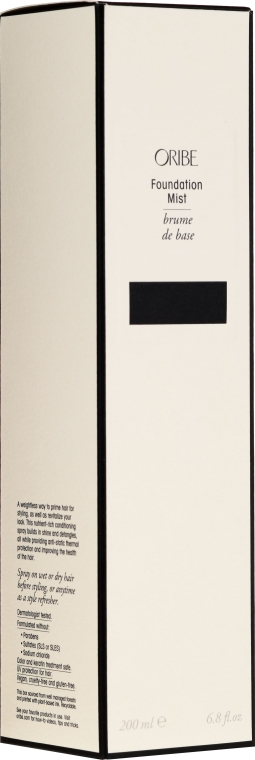 Моделираща основа спрей за коса, без отмиване - Oribe Foundation Mist — снимка N2