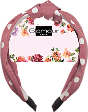 Парфюмерия и Козметика Диадема за коса, 417608 - Glamour